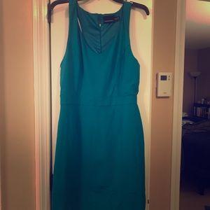 Cynthia Rowley teal dress